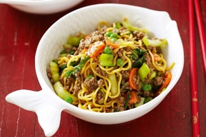 Mince with Noodles